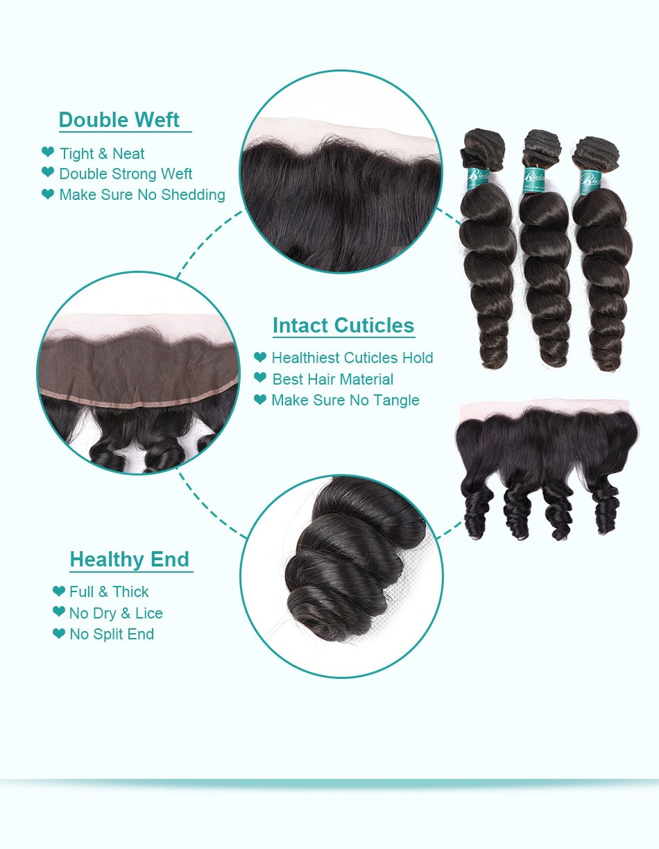 loose wave hair weave 3 4 bundles with 13 4 frontal---3+13_07