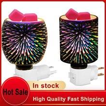 3d креативные красочные воск для ароматерапии плавления лампа