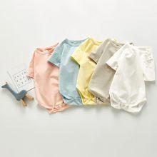 2021 Новая летняя одежда для маленьких мальчиков комбинезон