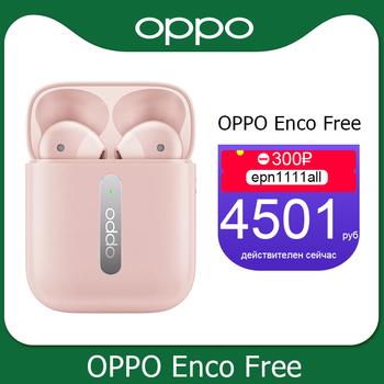 Oppo Enco Free True Wireless Earphone TWS Bluetooth 5 0 Dynamic Driver 31mAh Battery Earphone IPX4 For OPPO Find X X2 PRO tanie i dobre opinie Ucho Dynamiczny CN (pochodzenie) 120dB Dla Telefonu komórkowego Wspólna Słuchawkowe Typ linii Typ c ETI102 Usytuowaną częściowo na świeżym powietrzu