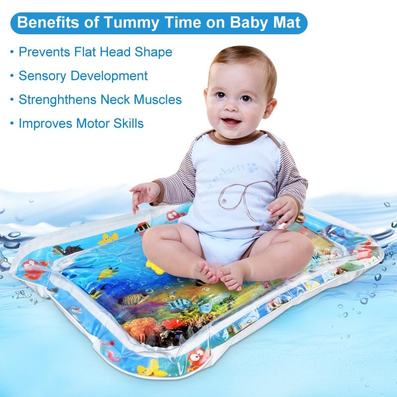 Փչովի բարձի նորածնի փոքր երեխայի ջրի - Խաղալիքներ նորածինների համար - Լուսանկար 4
