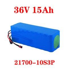 LiitoKala 36V 15Ah battery 21700 5000mah 10S3P battery pack 500W high power battery 42V 15000mAh Ebike electric bicycle BMS