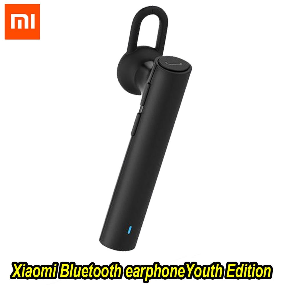 100%Xiaomi Bluetooth Youth Edition Earphone Headset Bluetooth 4.1 Xiaomi Mi LYEJ02LM Earphone Build-in Mic Handfree