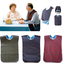 Aprons Adult Cook-Protector-Tool Waterproof 1pcs Bib Disability Large Mealtime