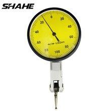 SHAHE 0-0,2 мм прецизионный стрелочный индикатор рычажный Калибр 0,002 мм рычажный циферблат тестовый индикатор