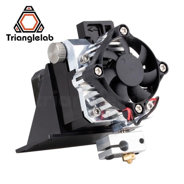 Экструдер Trianglelab titan, полный комплект, экструдер Titan Aero V6 hotend, полный комплект reprap mk8 i3, совместимый с 3d принтером TEVO ANET I3