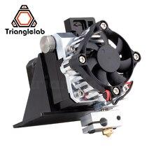 Trianglelab titan extrusora kit completo titan aero v6 hotend extrusora kit completo reprap mk8 i3 compatível tevo anet i3 impressora 3d