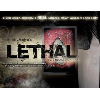 Lethal - Magic Tricks Amazing Pin Card Magia Stage Illusions Mentalism Gimmick Props Accessary For Professional Magicians Shows
