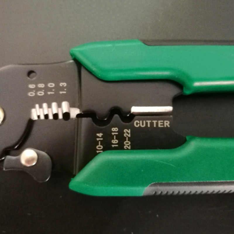 1 шт. щипцы для зачистки проводов, автоматический многофункциональный зажим, обжимные плоскогубцы, ручные инструменты