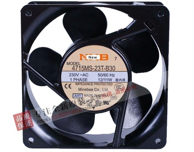Para NMB-MAT 4715MS-23T-B30, D00 AC 230V 15/14W 2 piezas 120x120x38mm ventilador de refrigeración del servidor