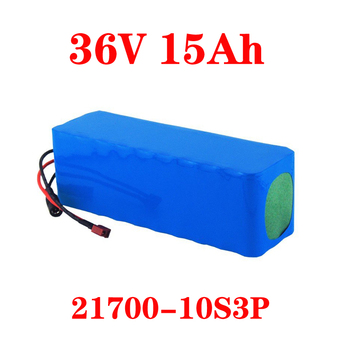 LiitoKala 36V 20ah 15ah 25ah 30ah Lithium Battery Electric Bike Battery 500W Scooter Battery With 30A BMS image