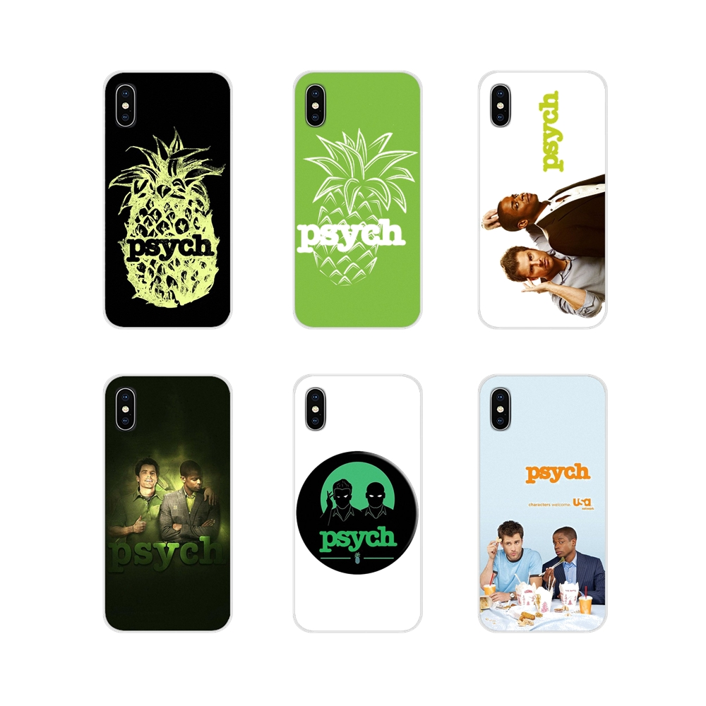 For Samsung Galaxy A3 <font><b>A5</b></font> A7 A9 A8 Star A6 Plus 2018 2015 <font><b>2016</b></font> 2017 Accessories Phone Cases Covers Psych Shawn and Gus image