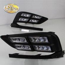 цена на LED Daytime Running Light for Chevrolet Cruze 2016 2017 fog lamp DRL front bumper lamp