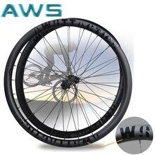 Колесные диски AWS Center-Lock, углеродные диски с Карбоновым ободом, дисковый тормоз, дорожный велосипед 700c с или для велосипеда-Bock/Road-Велоспорт