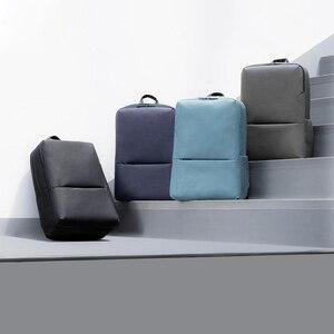 Image 4 - Nouveau Original Xiaomi classique affaires sac à dos à bandoulière 2 étanche 5.6 pouces ordinateur portable sac à bandoulière unisexe voyage en plein air 18L
