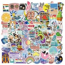 Stickers Gift Decal Laptop Pegatinas Vsco Girl Cartoon Kawaii 100PCS Diy Guitar for Stationery