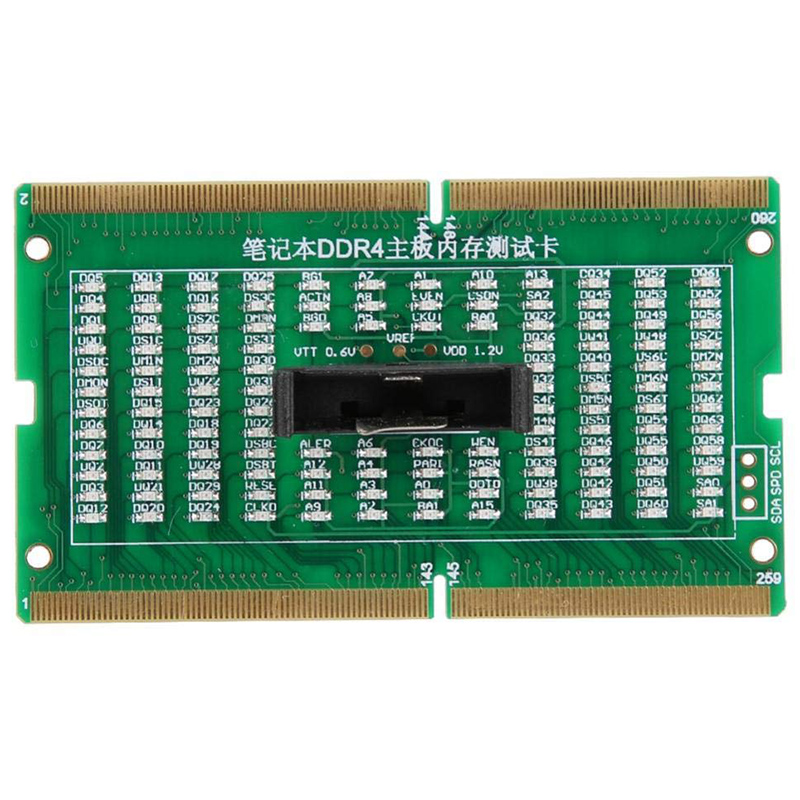 DDR4 Laptop Notebook Memory Slot DDR4 Test Card SO-UDIMM Out LED Tester Motherboard Repair Tester DDR4