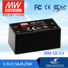kindly MEAN WELL 6Pack IRM-10-3.3 3.3V 2.5A meanwell IRM-10 3.3V 8.25W Single Output Encapsulated Type