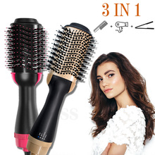 Hair Straightener Comb Curler Styling Multifunctional