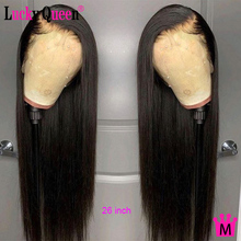 Lucky Queen Brazilian Straight 13x4 Lace Human Hair Wigs For