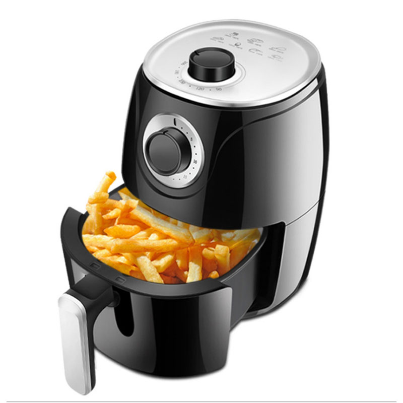 1500W 2.6L Oil Free Air Fryer Health Airfryer French Fries Pizza Cooker Multifunction Electric Deep Fryers Non-stick Oven 220V