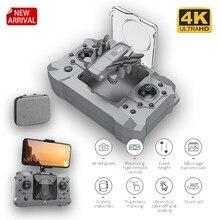 2021 nova ky905 mini drone 4k 1080p hd câmera wifi fpv pressão de ar altitude segurar cinza dobrável quadcopter rc dron brinquedo do miúdo