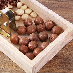 Image 5 - Manual macadamia nut opener nut cracker machine Walnut Nutcracker nut sheller tool Kitchen Accessories
