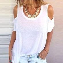 2021 nouvelles Femmes Sans Manches Imprime Vintage T-shirts camiseta Couleur Hauts con hombros descubiertos