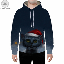 For casual men's and women's hoodies in the summer or fall, there is a cat sport hoodie with little red riding hood
