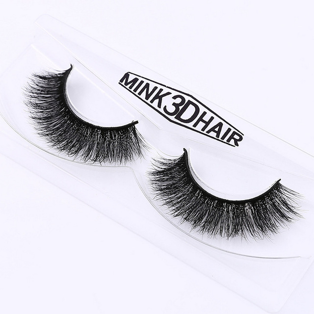 New band DOCOCER Mink Lashes 3D Mink False Eyelashes Long Lasting Lashes Natural & Lightweight Mink Eyelashes 1 pair Packaging
