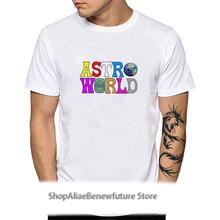 Astroworld Wish You Were Here Letter Print Tees Tops Men Women Travis Scotts Hip Hop T Shirt Jack Cactus Harajuku T-Shirts YH105