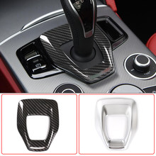 Auto Styling Middenconsole Versnellingspook Panel Frame Cover Trim Abs Chrome Voor Alfa Romeo Giulia Stelvio 2020 Interieur Accessoires