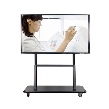 65 75 85 inch wifi 4k Electronic teaching digital presentation boards interactive lcd touch screen monitor smart tv whiteboard 1