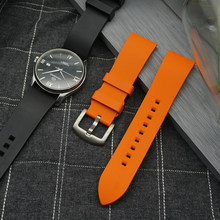 Premium-grade fluororubber pulseira de relógio 20 mm barra de liberação rápida 22 24mm pulseira para cada marca acessórios pulseira de relógio