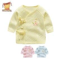Хлопковые пижамы для малышей, 1 шт. комбинезон для новорожденных мальчиков и девочек, хлопковые пижамы с длинными рукавами Комбинезоны для детей от 0 до 12 месяцев, одежда для малышей