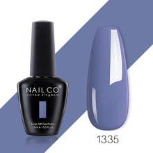 NAILCO 15ml winter color series UV&LED Gel polish nail art Gel Lacquer lakiery hybrydowe Gel Varnishes For Nails