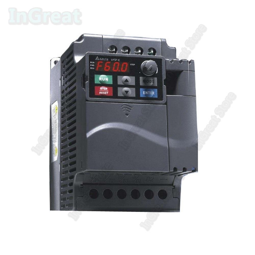 380V Delta AC 400W 0.4KW 0.5hp 600Hz & PLC VFD E VFD004E43A Frequenz Konverter Inverter Fahrer VFD Modbus RS485 Digitale tastatur - 2
