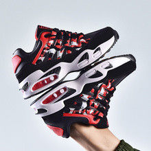 Autumn Men and Women Running Shoes Large Size Sports Tide Couple Wild Air Cushion Casual