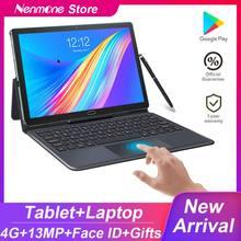 2021 atualizado android 10.5 Polegada 2in1 tablet pc deca núcleo 1920*1200 tela 13.0mp duplo 4g tablet com teclado gps gaming