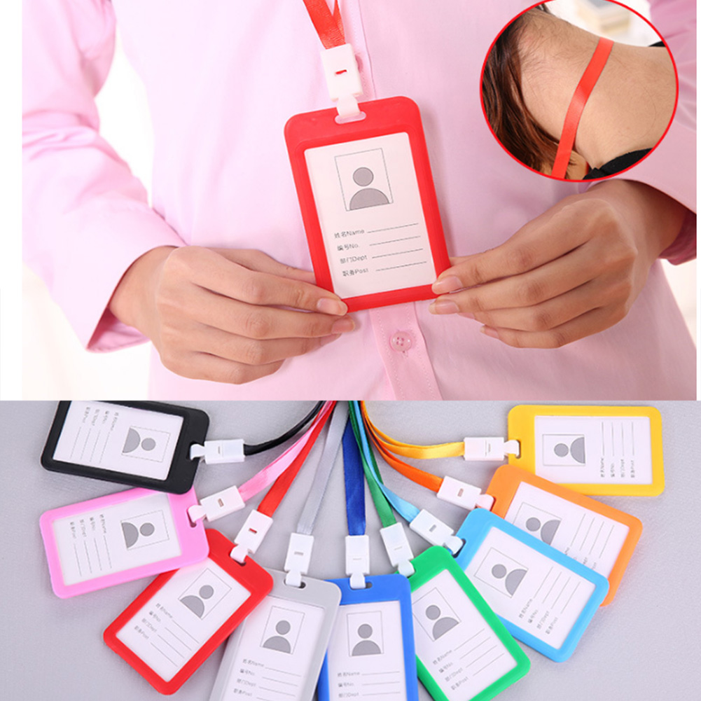 Certificate Identity Bus Badge Card Holder Passport Protector Protective Shell