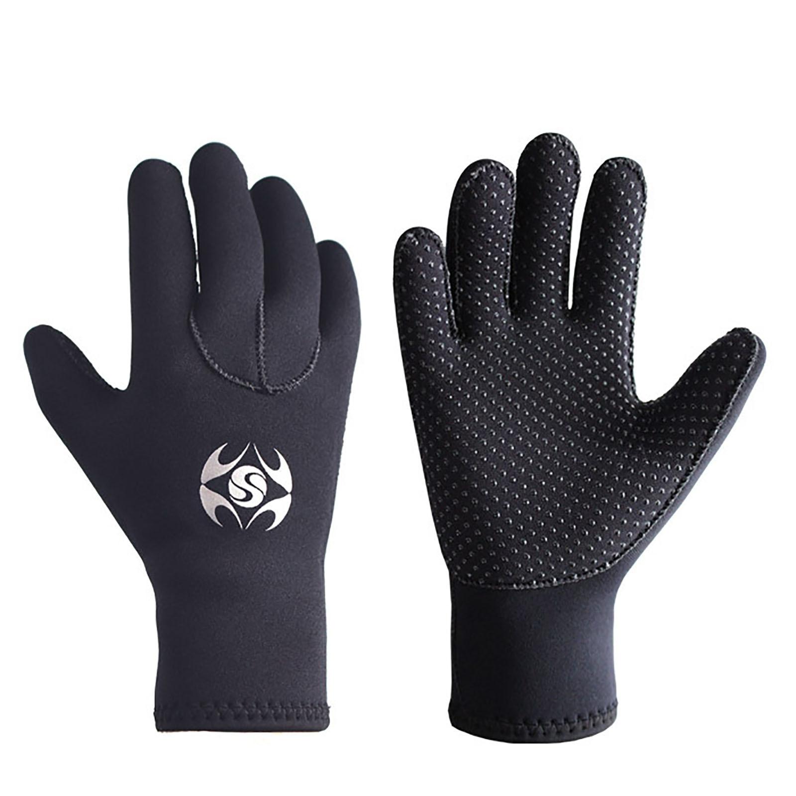 3 мм неопрена дайвинг перчатки Для мужчин перчатки Гидрокостюма для подводного плавания на каноэ перчатки Для женщин Для мужчин подводной о...