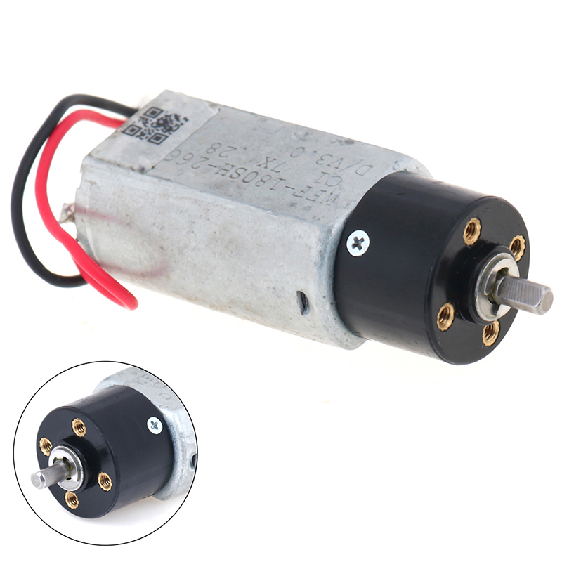 17mm DC1.5V-3V 1300RPM Micro Mini 180 Planetary Gearbox Gear Motor DIY Robot Car