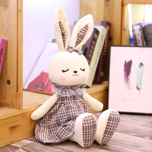 1pc 45/90cm Super Quality rabbit Soft Plush Toy Stuffed Animal Cartoon Creative Birthday Christmas Toys For Children Xmas Gifts