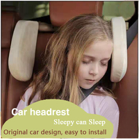 Car Sleep Warm Headrest Neck Pillow In Winter Neck Rest Seat Headrest Cushion Pad Head Safety Protection Travelling Seat Support