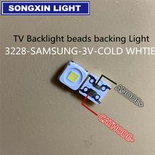 2000 piezas de reparación especial 32 55 pulgadas LED LCD TV retroiluminación con tira de luz 2828 SMD LED cuentas 3V para SAMSUNG