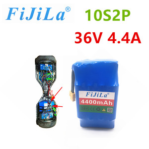 Batería recargable de iones de litio de 36V 10S2P, paquete de batería de 4,4 Ah para hoverboard eléctrico de autosucción unic