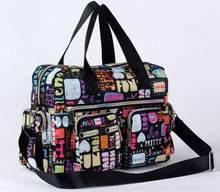 Bolsa feminina bolsa de ombro mensageiro saco casual flor impressa grande capacidade impermeável sacola vários padrões para escolher saco