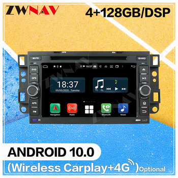 128G Carplay Android 10 screen Car DVD Player for Chevrolet Aveo 2002-2010 2011 WiFi GPS Navi Auto Radio Audio Stereo Head unit image