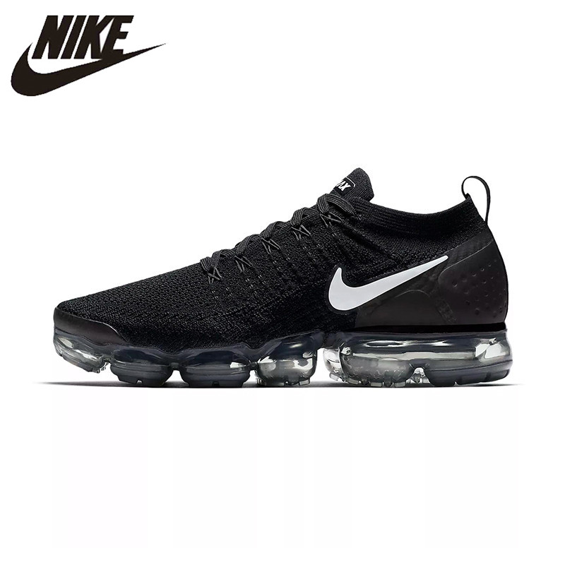 NIKE AIR VAPORMAX FLYKNIT 2 Running Shoes For Men Sneakers 942842-001 Sport Outdoor Shoes