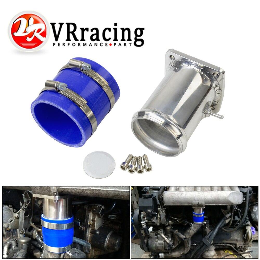 VR - Billet Aluminum For Mercedes OM606 EGR Delete EGR Valve Blanking Plate Removal Ultimate EGR Removal Kit VR-EGR13